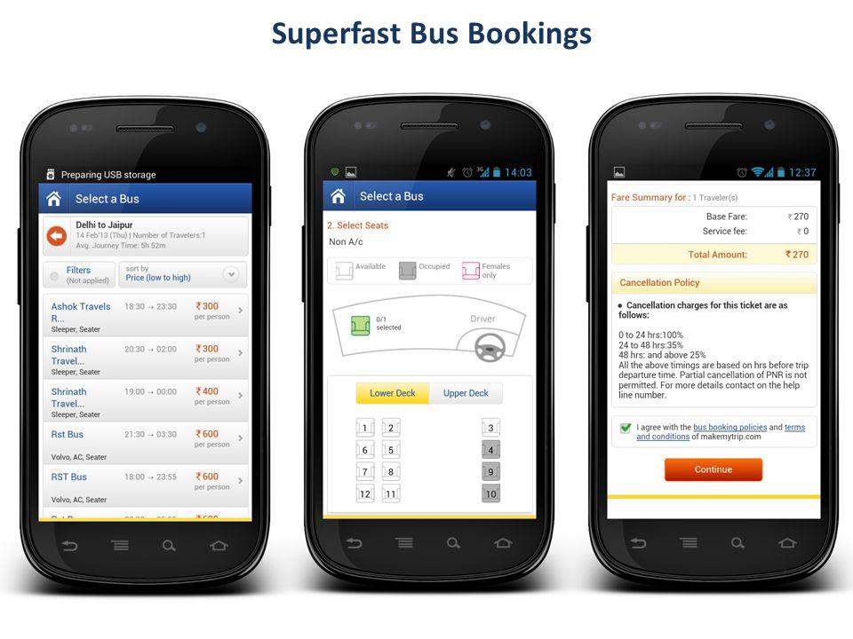 Superfast Bus Bookings