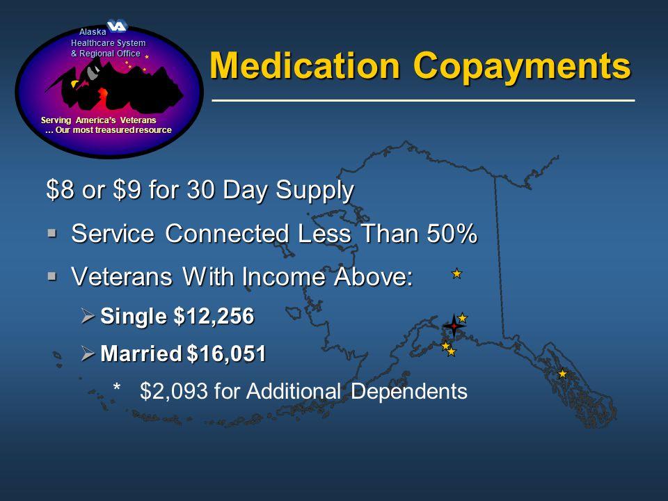 Alaska Alaska Healthcare System & Regional Office Serving Americas Veterans … Our most treasured resource … Our most treasured resource Medication Cop