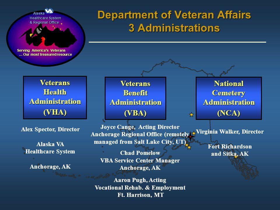 Alaska Alaska Healthcare System & Regional Office Serving Americas Veterans … Our most treasured resource … Our most treasured resource Veterans Healt