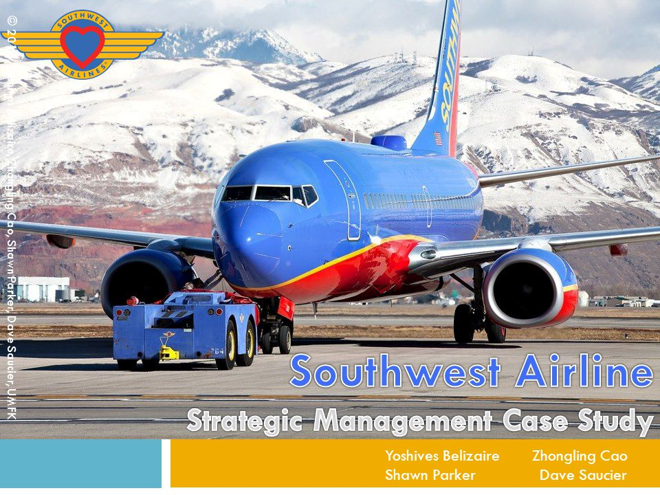 Existing Business Strategy 12 Low cost structure, which is designed to allow it to profitably charge low fares Free checked bags Loyal employees © 2013, Yoshives Belizaire, Zhongling Cao, Shawn Parker, Dave Saucier, UMFK