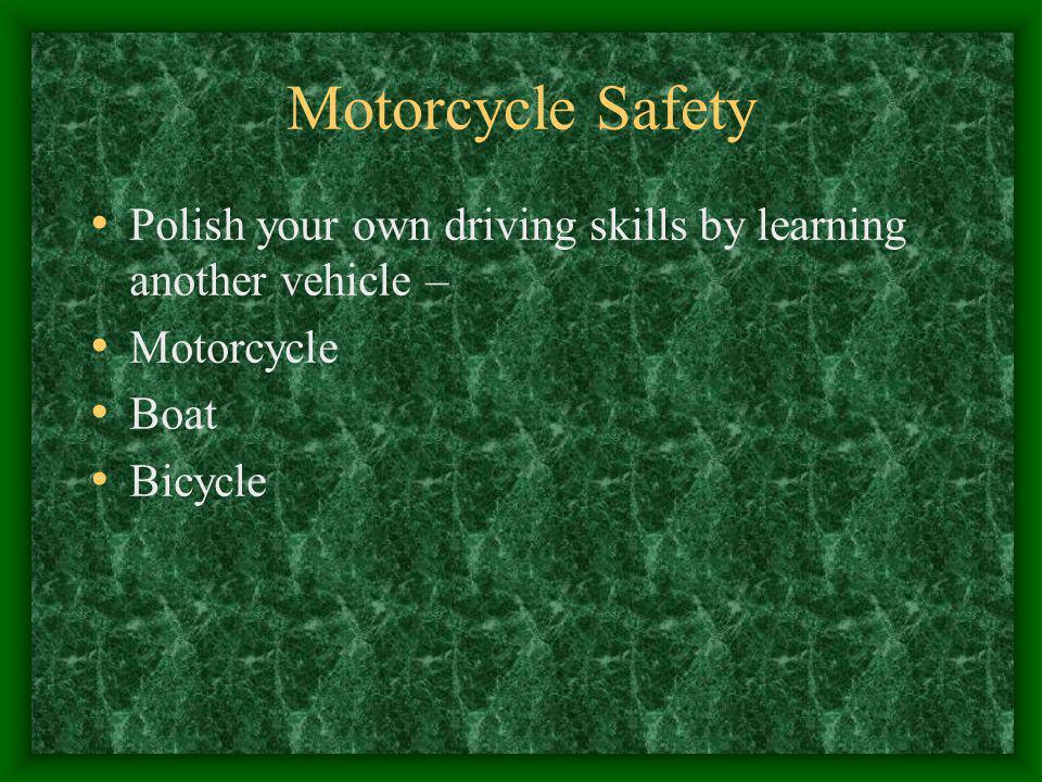 Adult driver education Educational brochures in DMV offices Educational brochures in insurance offices Educational brochures in police stations Educat