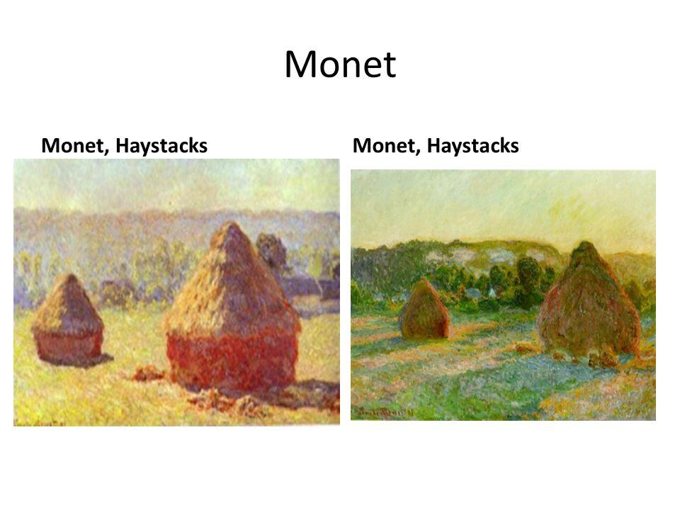 Monet Monet, Haystacks