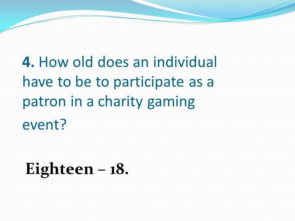 Eighteen – 18.