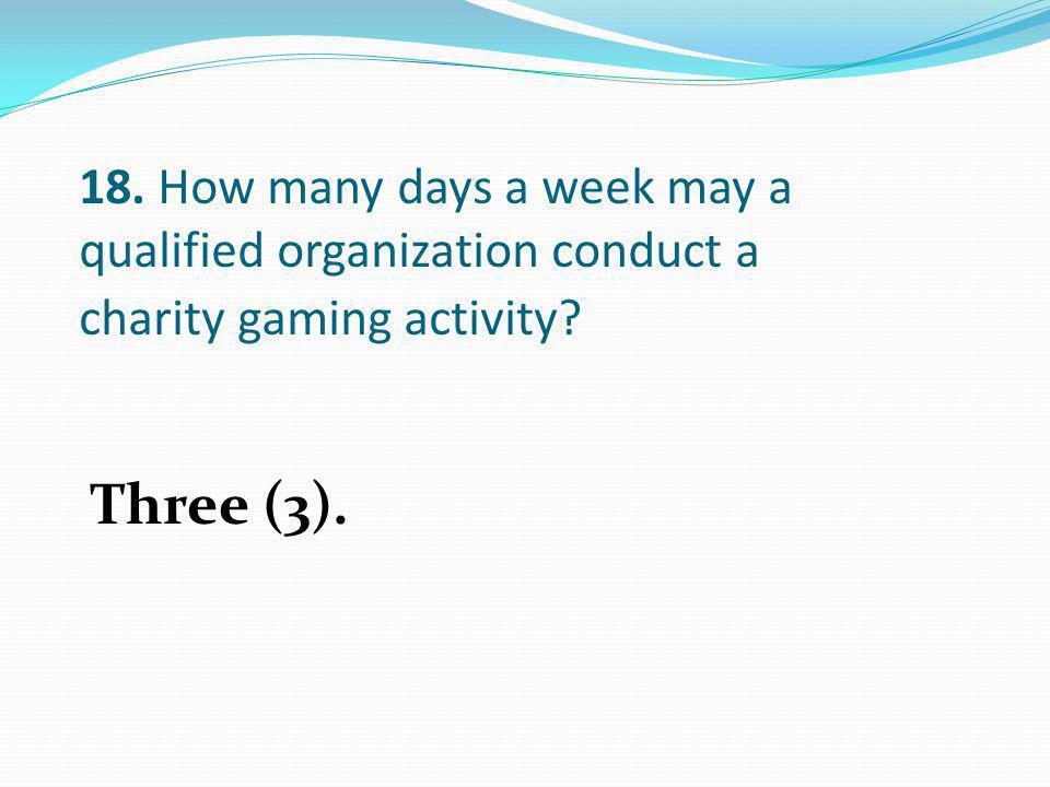 Three (3).