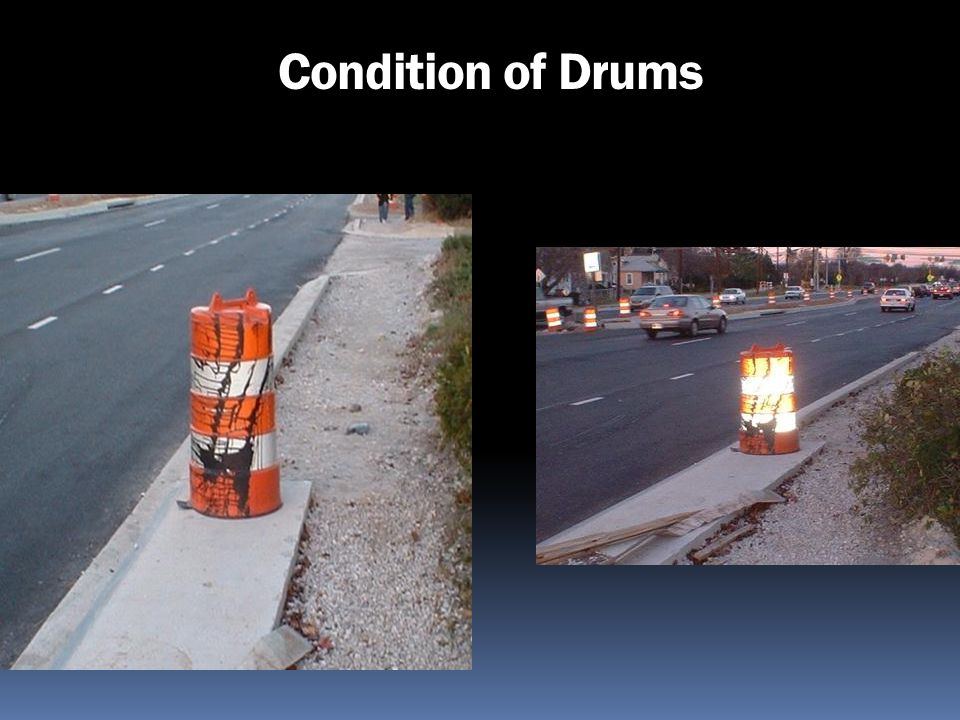 Condition of Drums