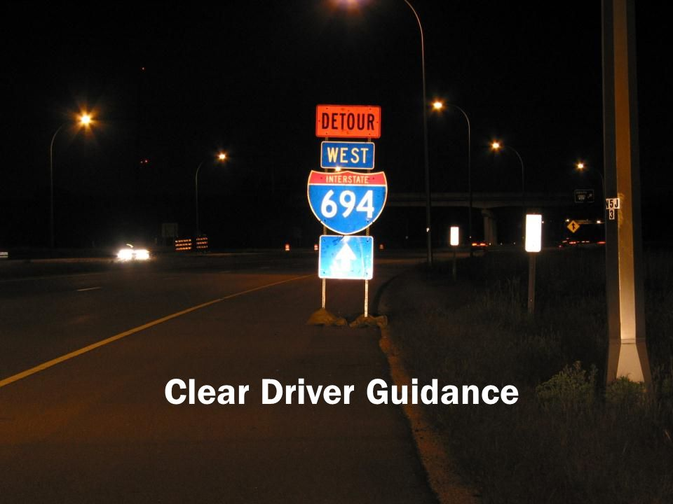 Clear Driver Guidance