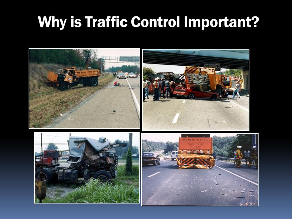 Why are we Training on Traffic Control.