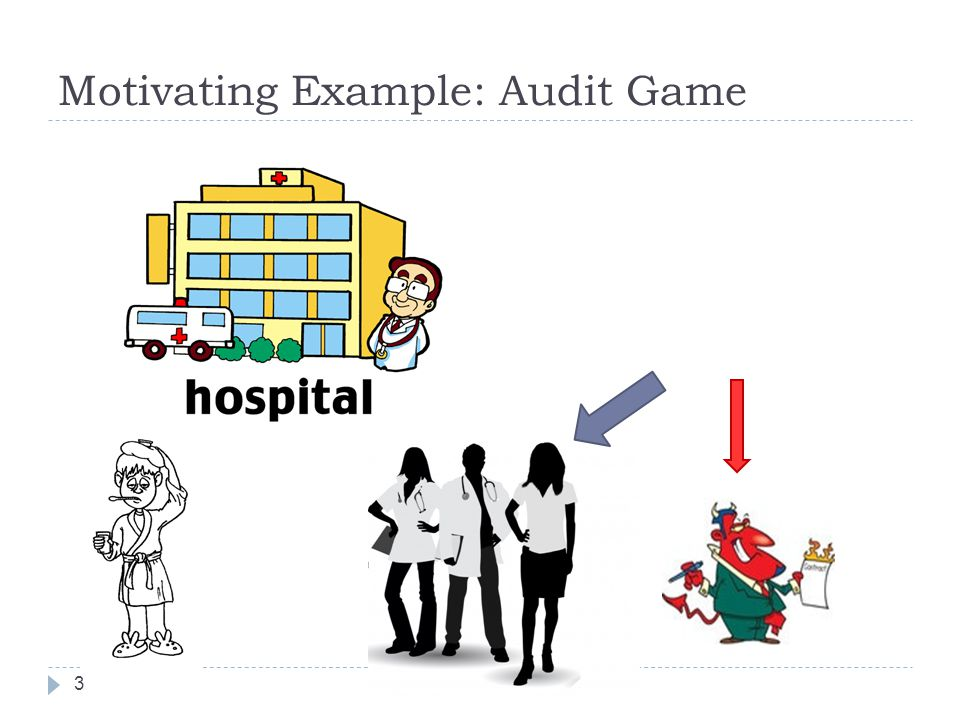 Motivating Example: Audit Game 3
