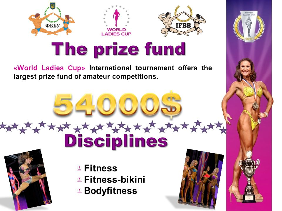 «World Ladies Cup» International tournament offers the largest prize fund of amateur competitions.