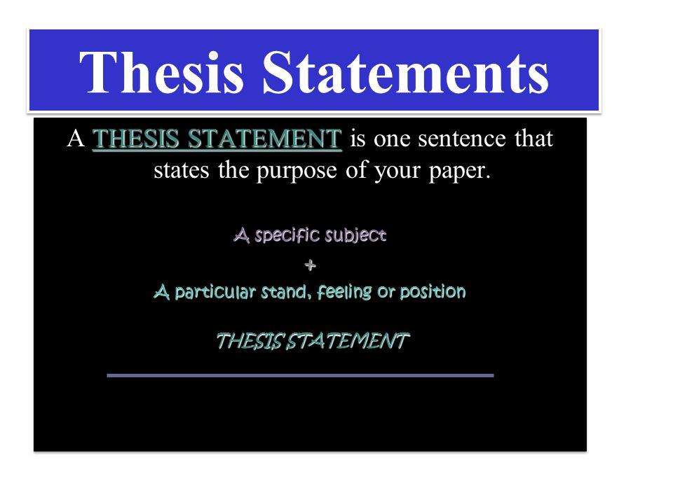 Thesis Procedural Manual - Montclair State University