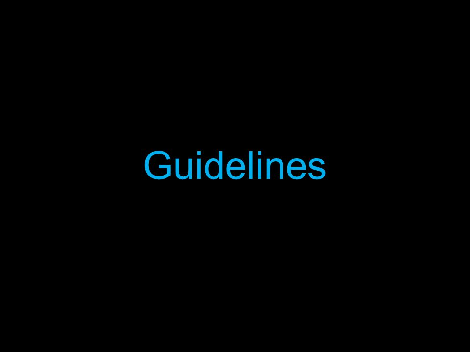 General This guideline should be made easily available for all members of the club to access.