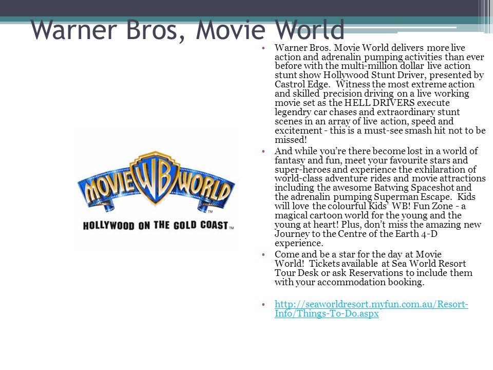 Warner Bros, Movie World Warner Bros.