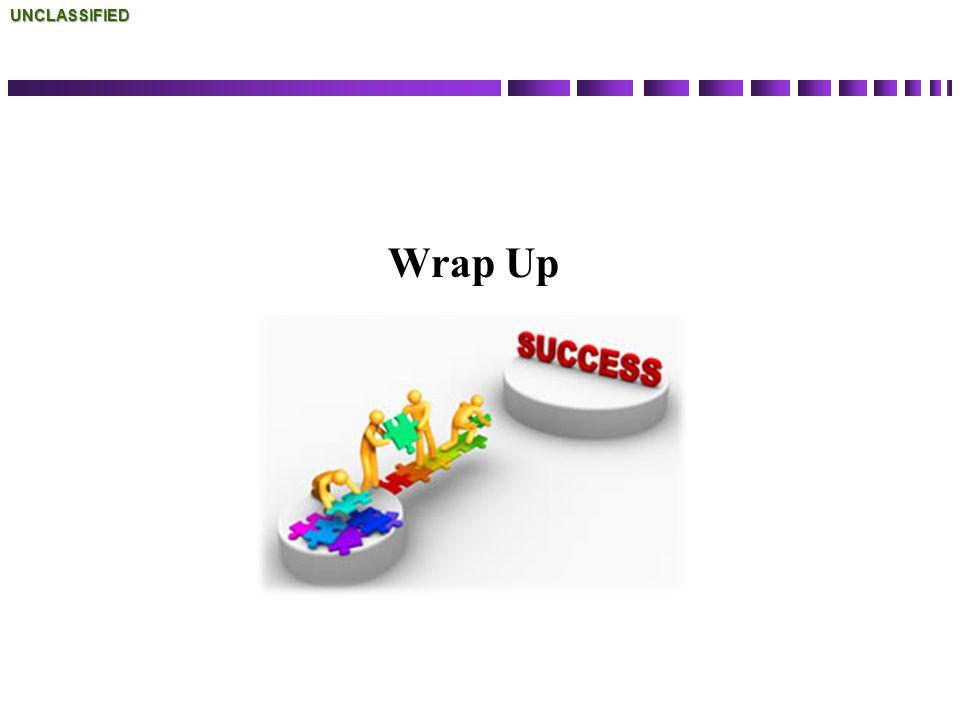 Wrap UpUNCLASSIFIED