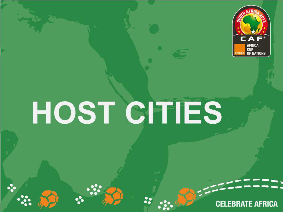 HOST CITIES