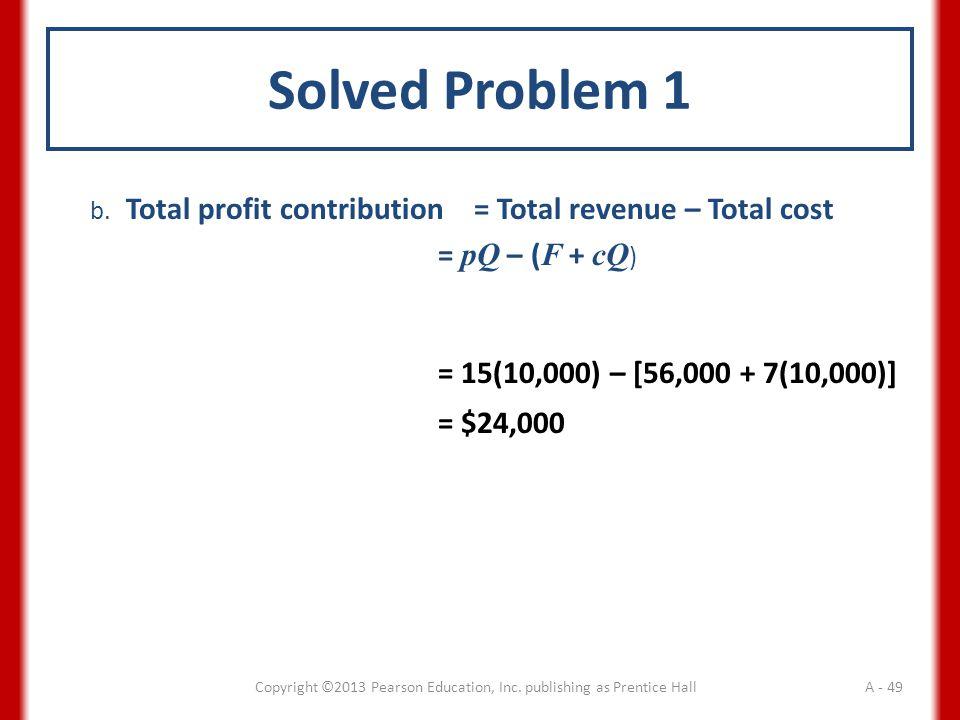 Solved Problem 1 b.