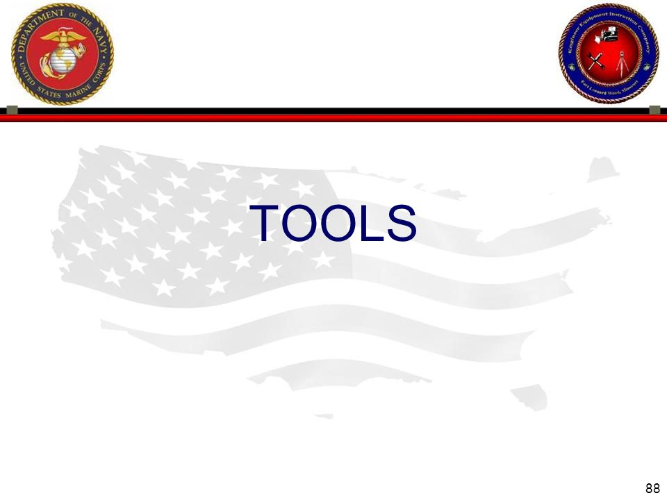 88 ENGINEER EQUIPMENT INSTRUCTION COMPANY TOOLS