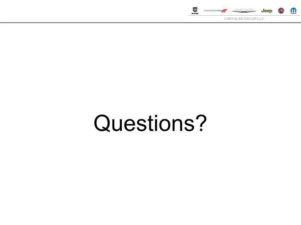 CHRYSLER GROUP LLC Questions?