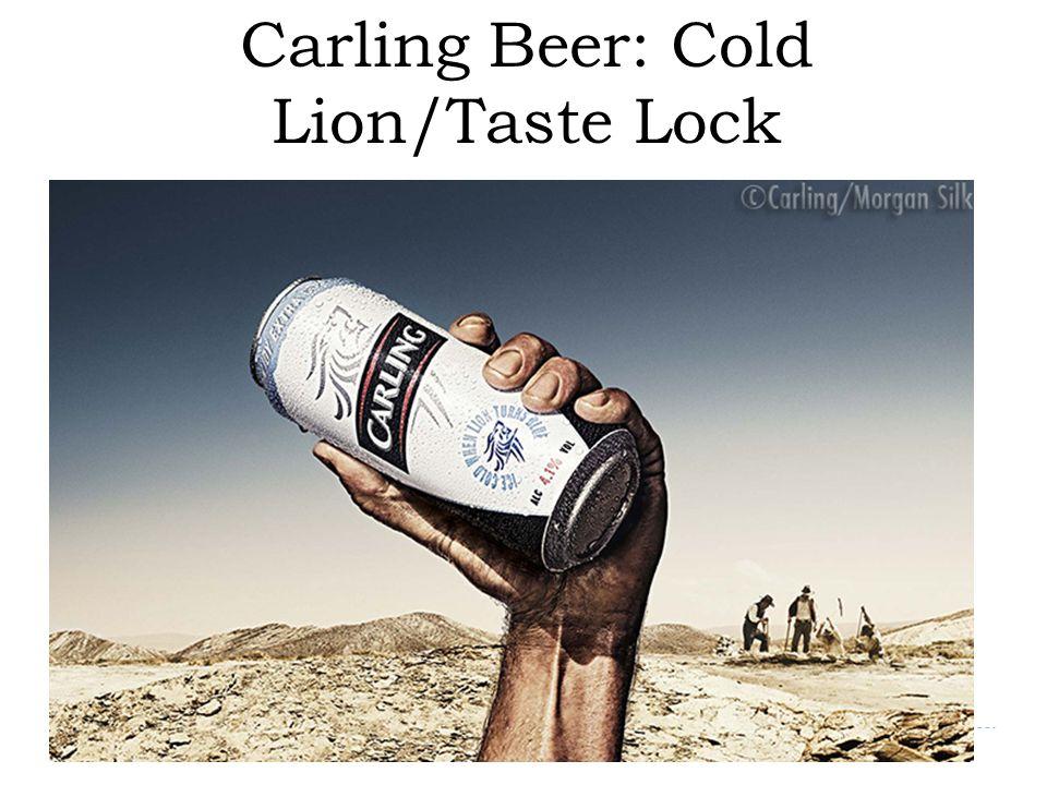 Carling Beer: Cold Lion/Taste Lock