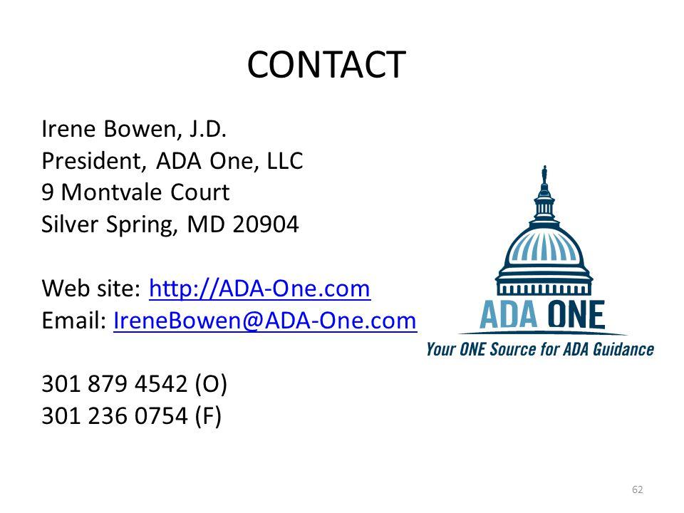 Irene Bowen, J.D.