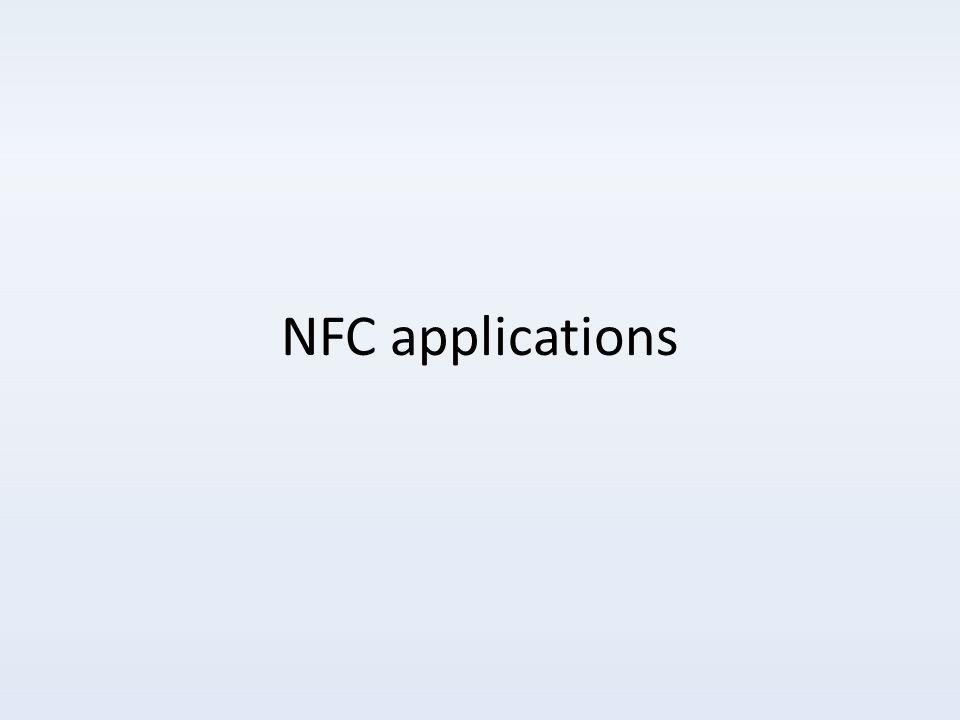 NFC applications