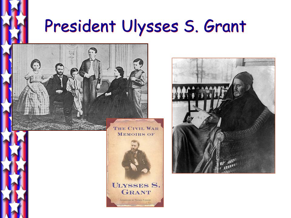 The Election of 1872 Rumors of corruption during Grants first term discredit Republicans.