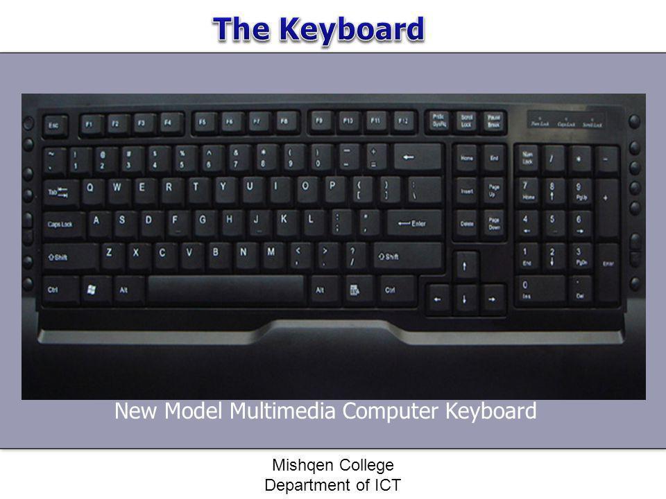 New Model Multimedia Computer Keyboard