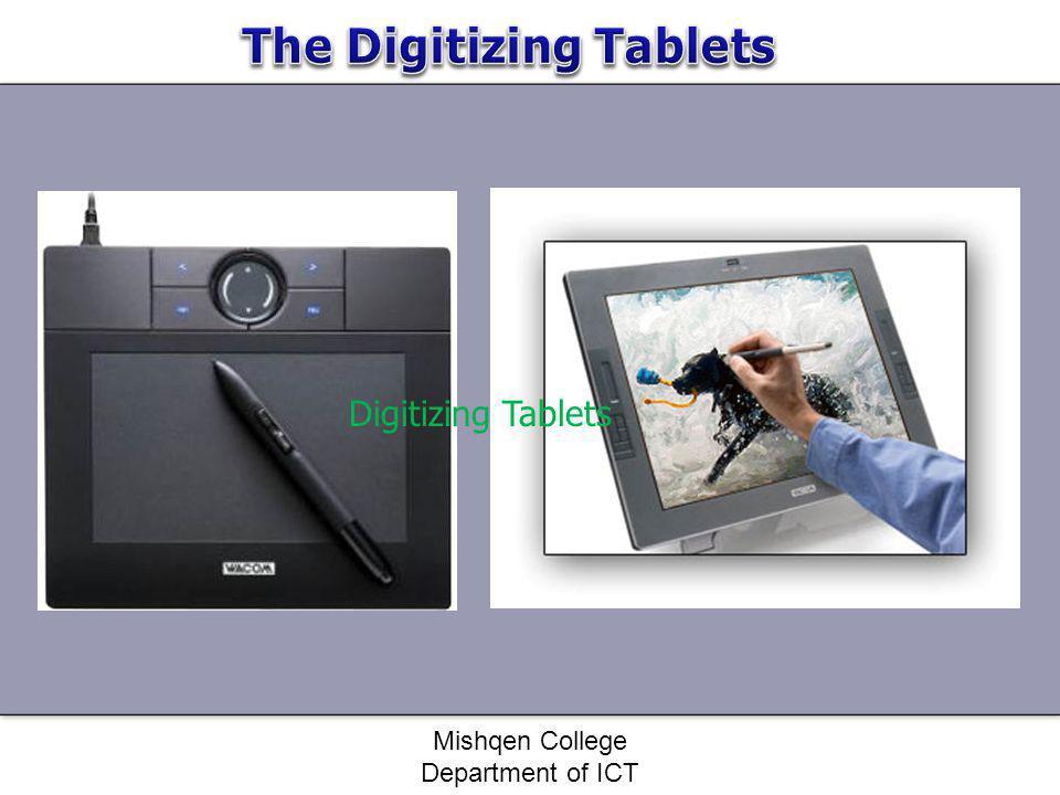 Digitizing Tablets