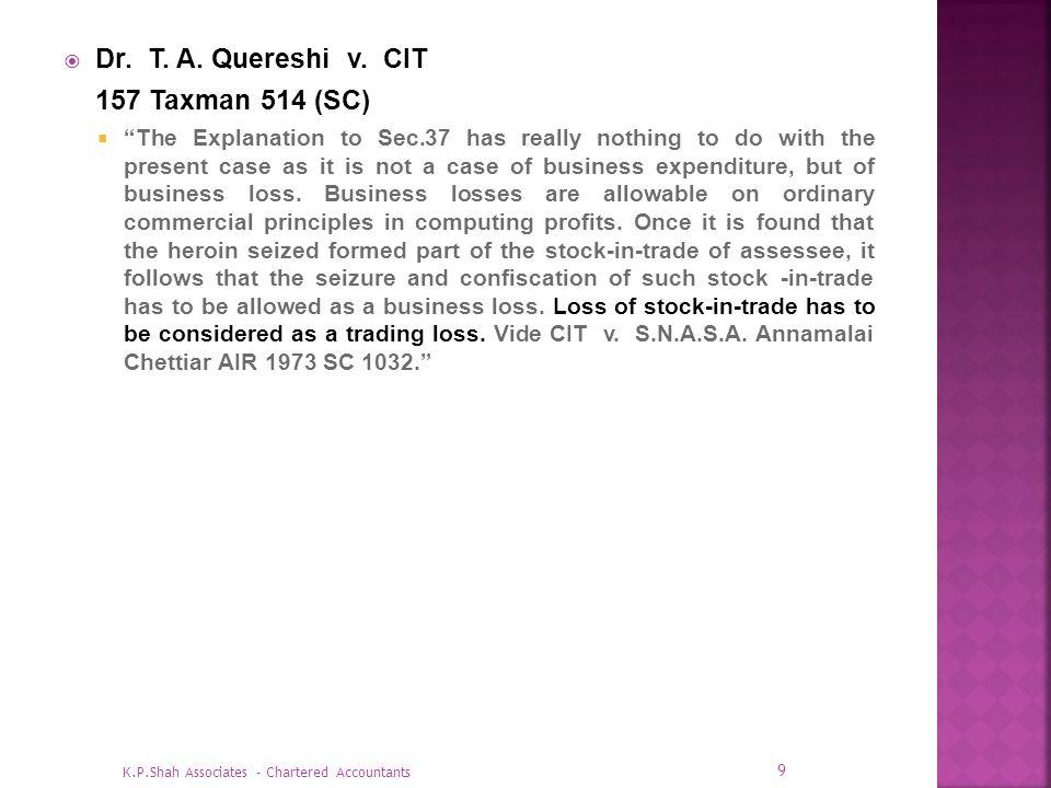 CIT v.SMIFS Securities Ltd.