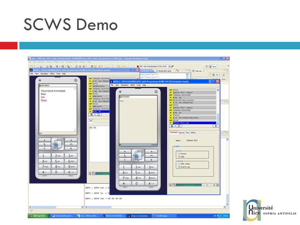 SCWS Demo