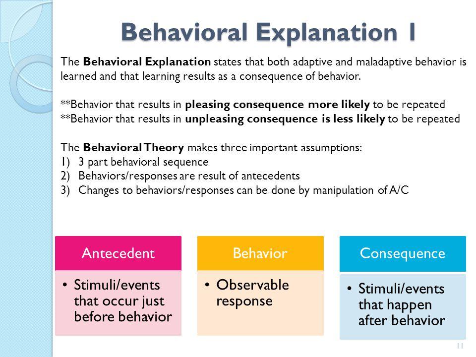 Standard 5: Biological Explanations 10