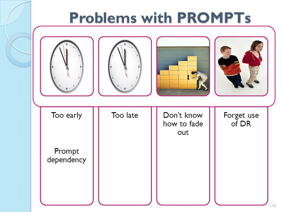 Student Project: Activity #7 2 part Video demonstration of skills. Segment 1: Behavior reduction- demonstration of PBS for problem behavior. Prevent T