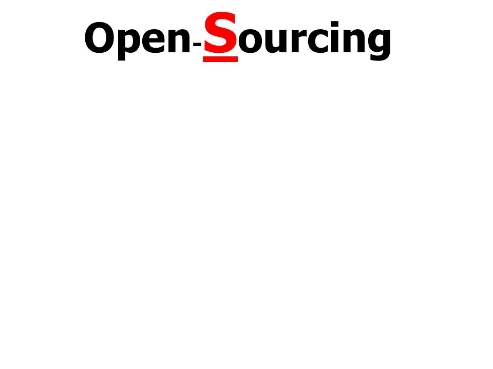 Open - S ourcing