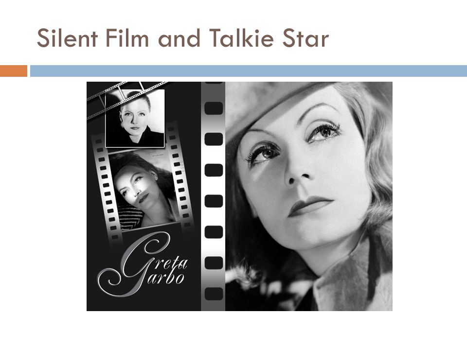 Silent Film and Talkie Star