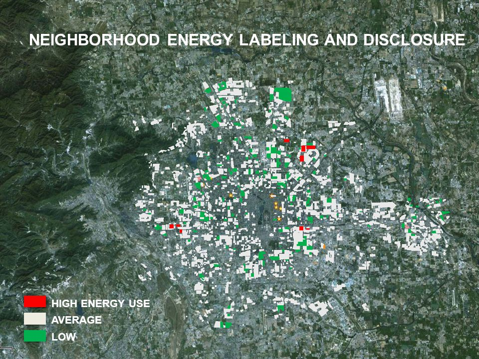 © 2012 MIT, all rights reserved NEIGHBORHOOD ENERGY LABELING AND DISCLOSURE HIGH ENERGY USE AVERAGE LOW