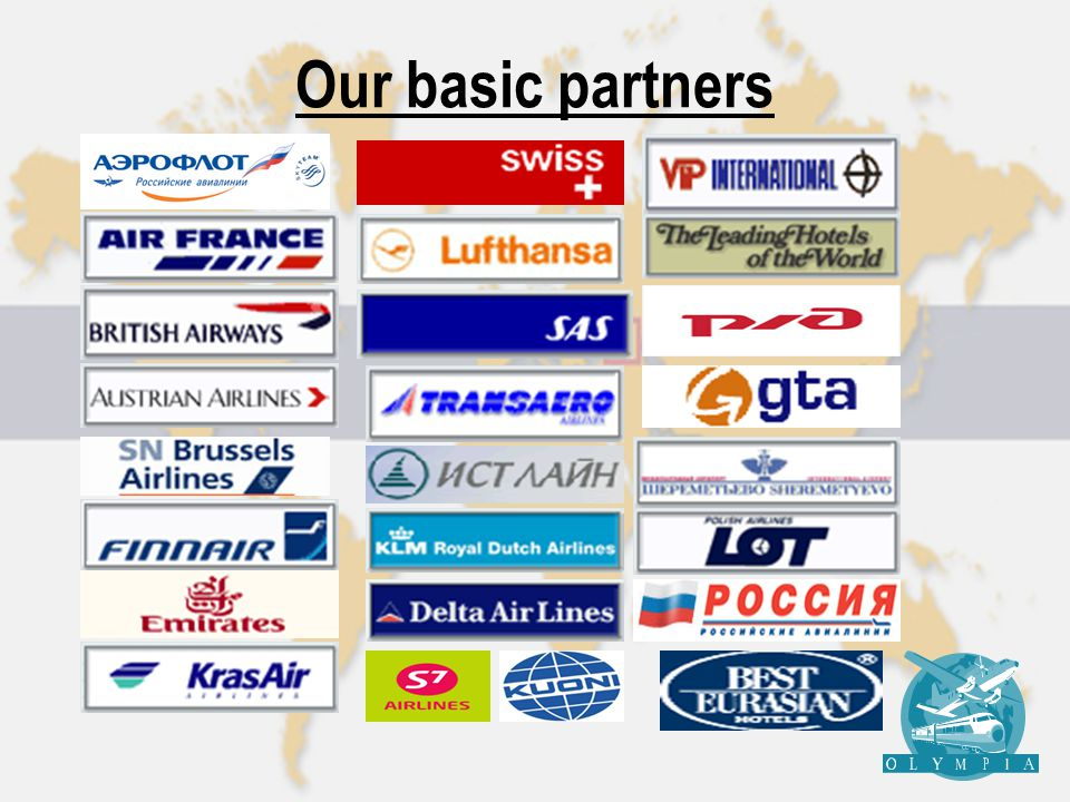 Our basic partners