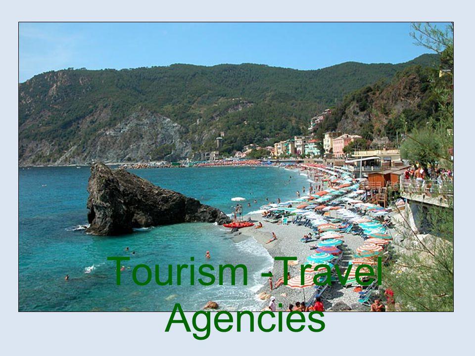 Tourism -Travel Agencies