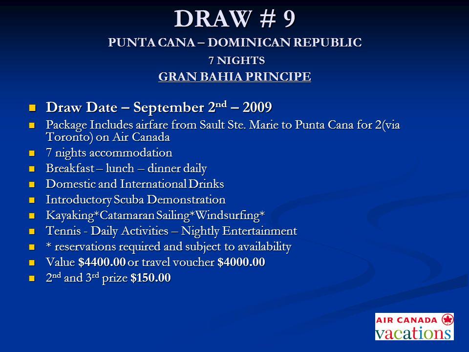 GRAN BAHIA PRINCIPE PUNTA CANA – DOMINICAN REPUBLIC