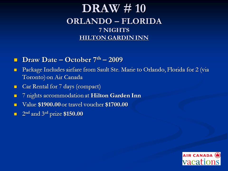 HILTON GARDEN INN ORLANDO - FLORIDA