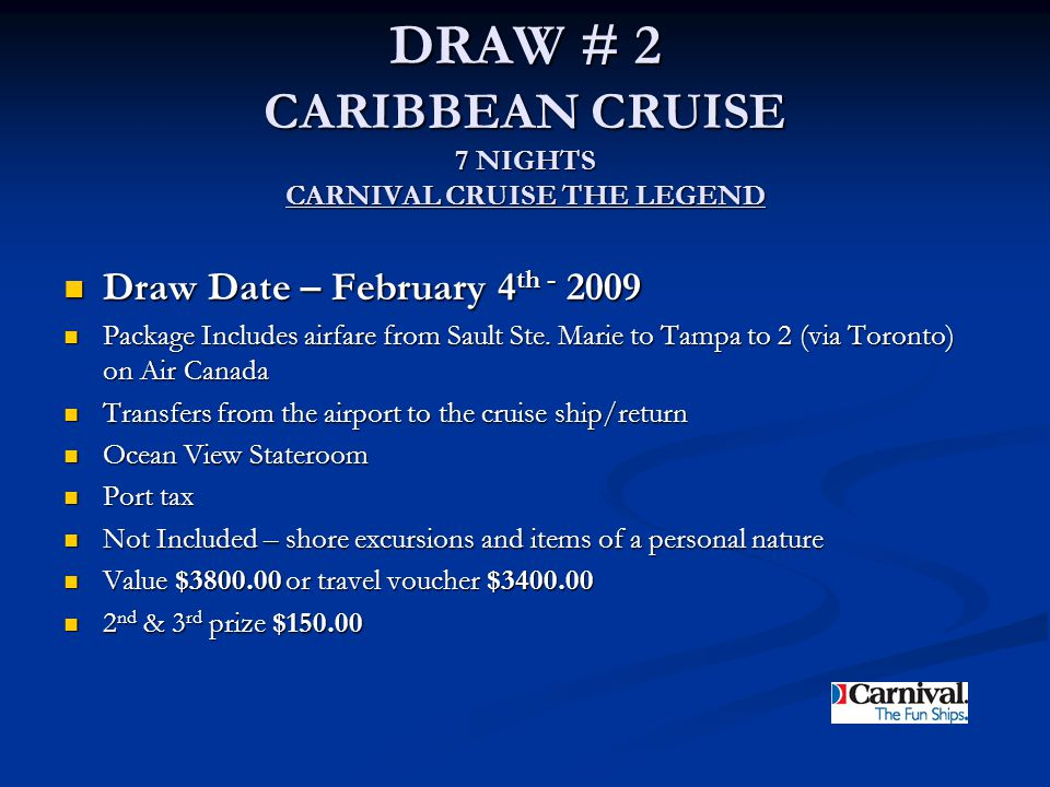 CARNIVAL CRUISE THE LEGEND