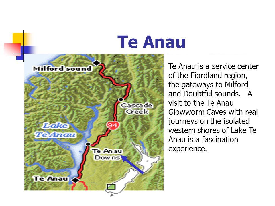 S c h e d u l e Day 3 : Day 3 : Queenstown Queenstown Milford Sound Milford Sound Te Anau Te Anau