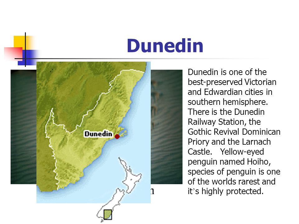 S c h e d u l e Day 4 : Day 4 : Te Anau Te Anau Dunedin Dunedin