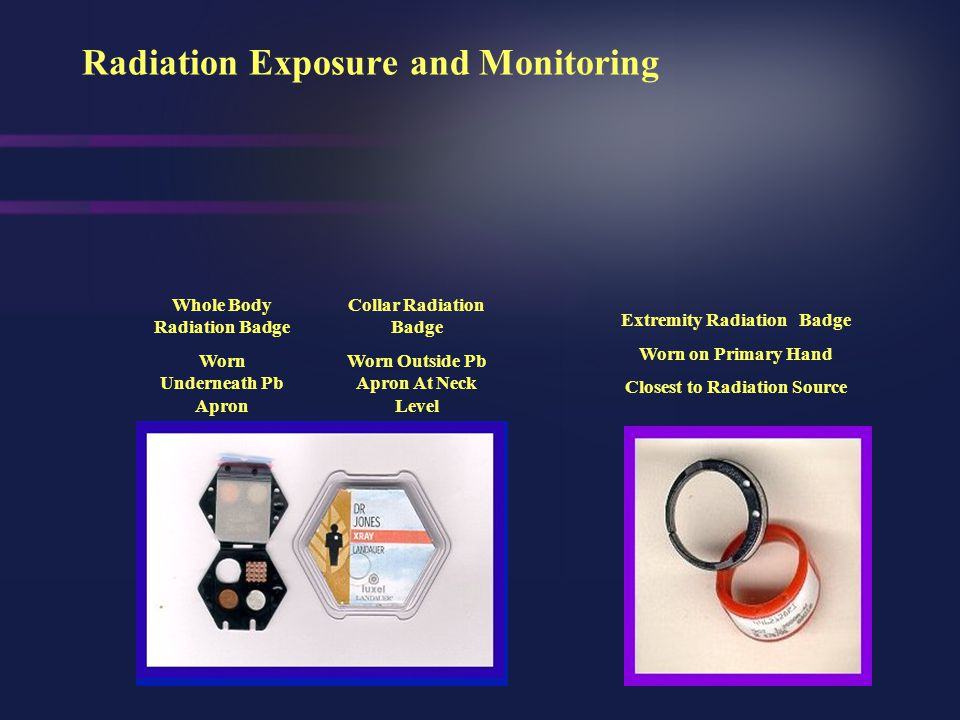 Basic Radiation Safety Principles T ime D istance C ontamination Control S hielding