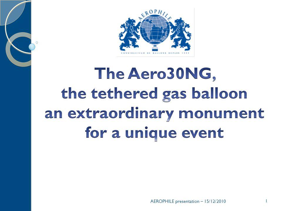 AEROPHILE presentation – 15/12/2010 1
