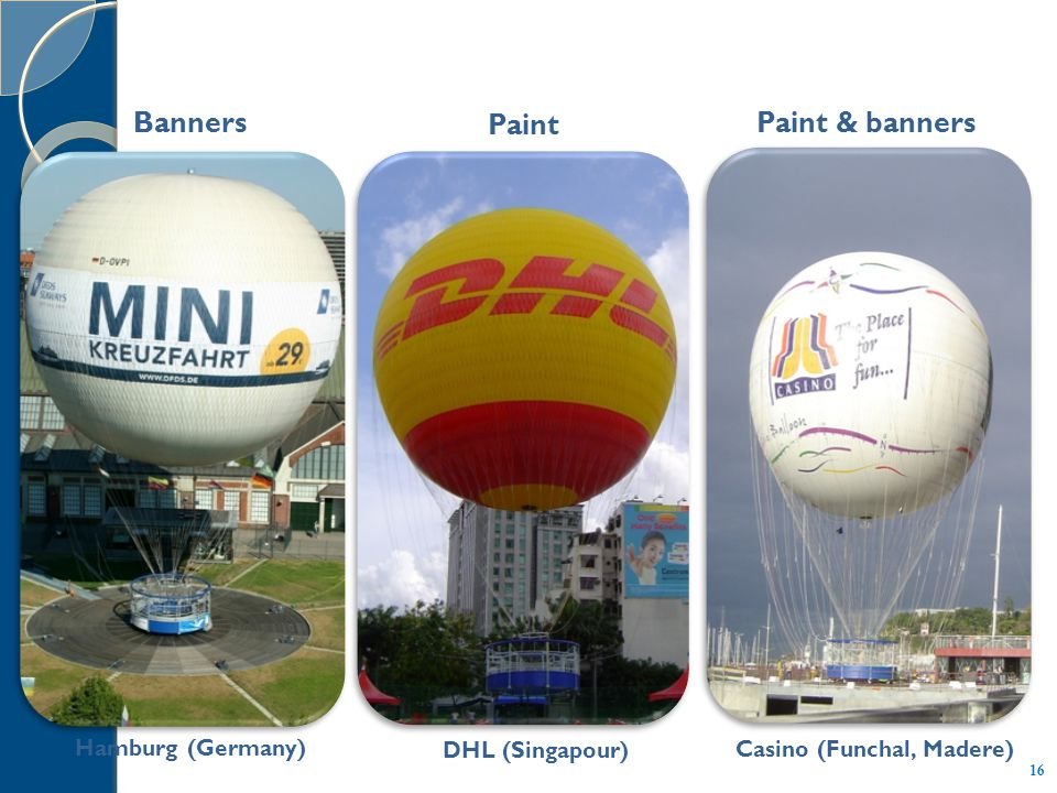 DHL (Singapour) Hamburg (Germany) Casino (Funchal, Madere) Banners Paint Paint & banners 16
