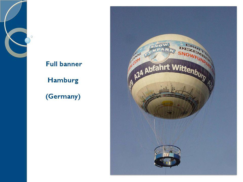 AEROPHILE presentation – 15/12/2010 17 Full banner Hamburg (Germany)