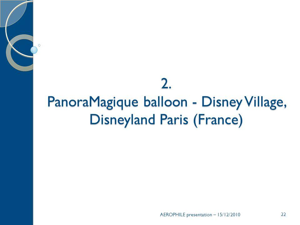 22 2. PanoraMagique balloon - Disney Village, Disneyland Paris (France)