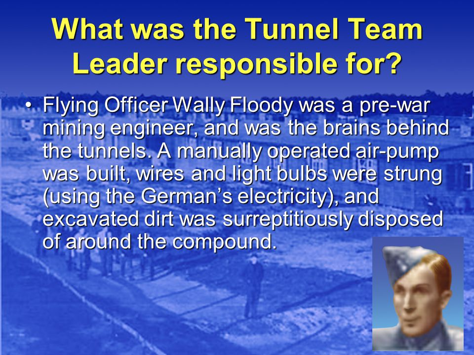 What was the Tunnel Team Leader responsible for.