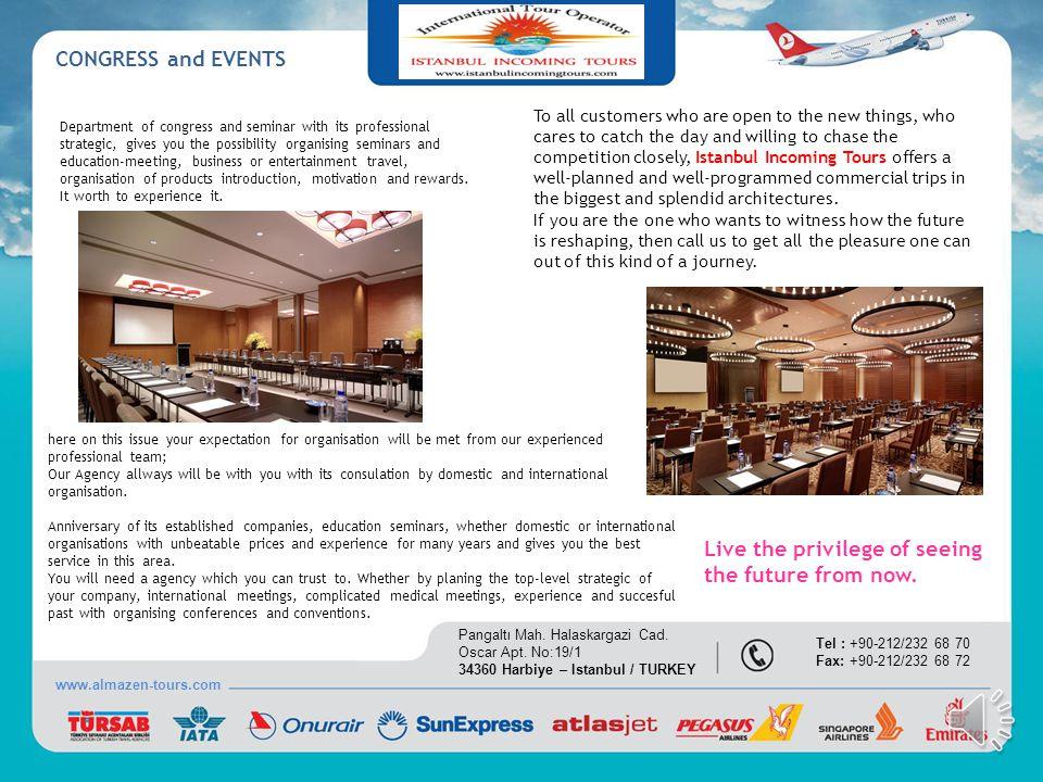 COUNCELING SERVICES www.almazen-tours.com Pangaltı Mah.