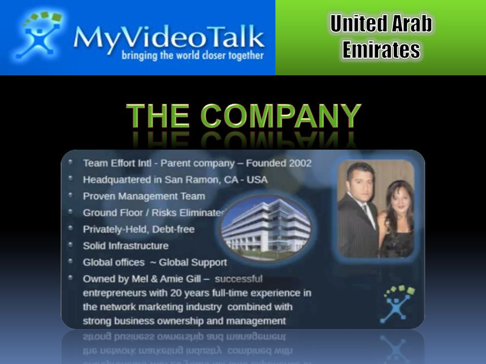 Conduct presentations to prospects, train organization, conduct live video conference calls.