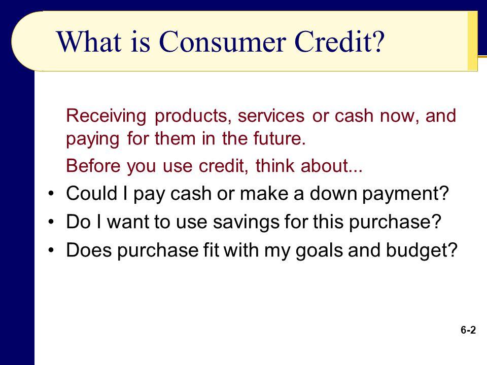 Consumer Credit – Student Loans